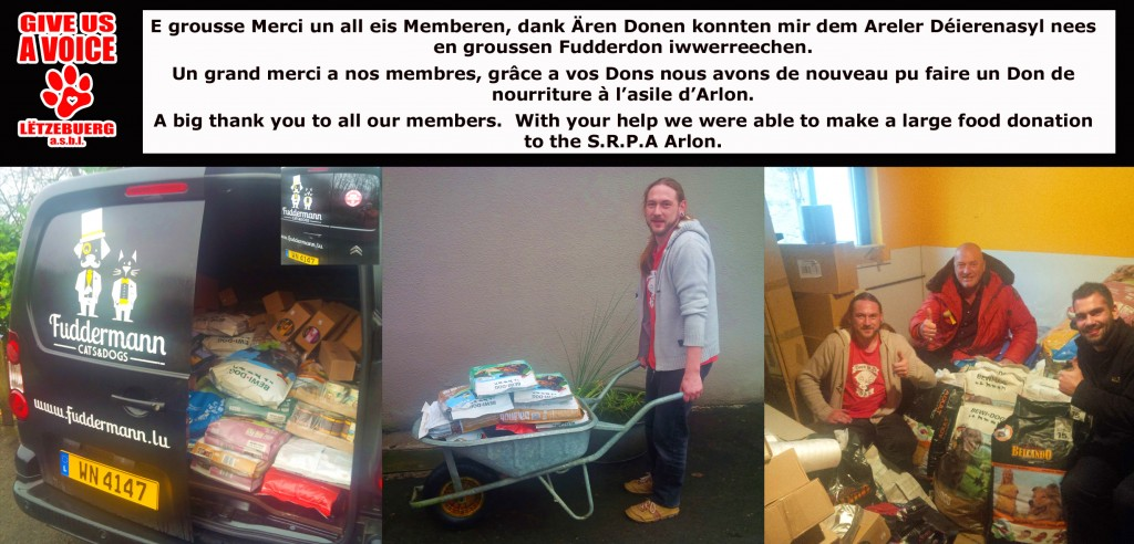 Arlon Food Donation copy