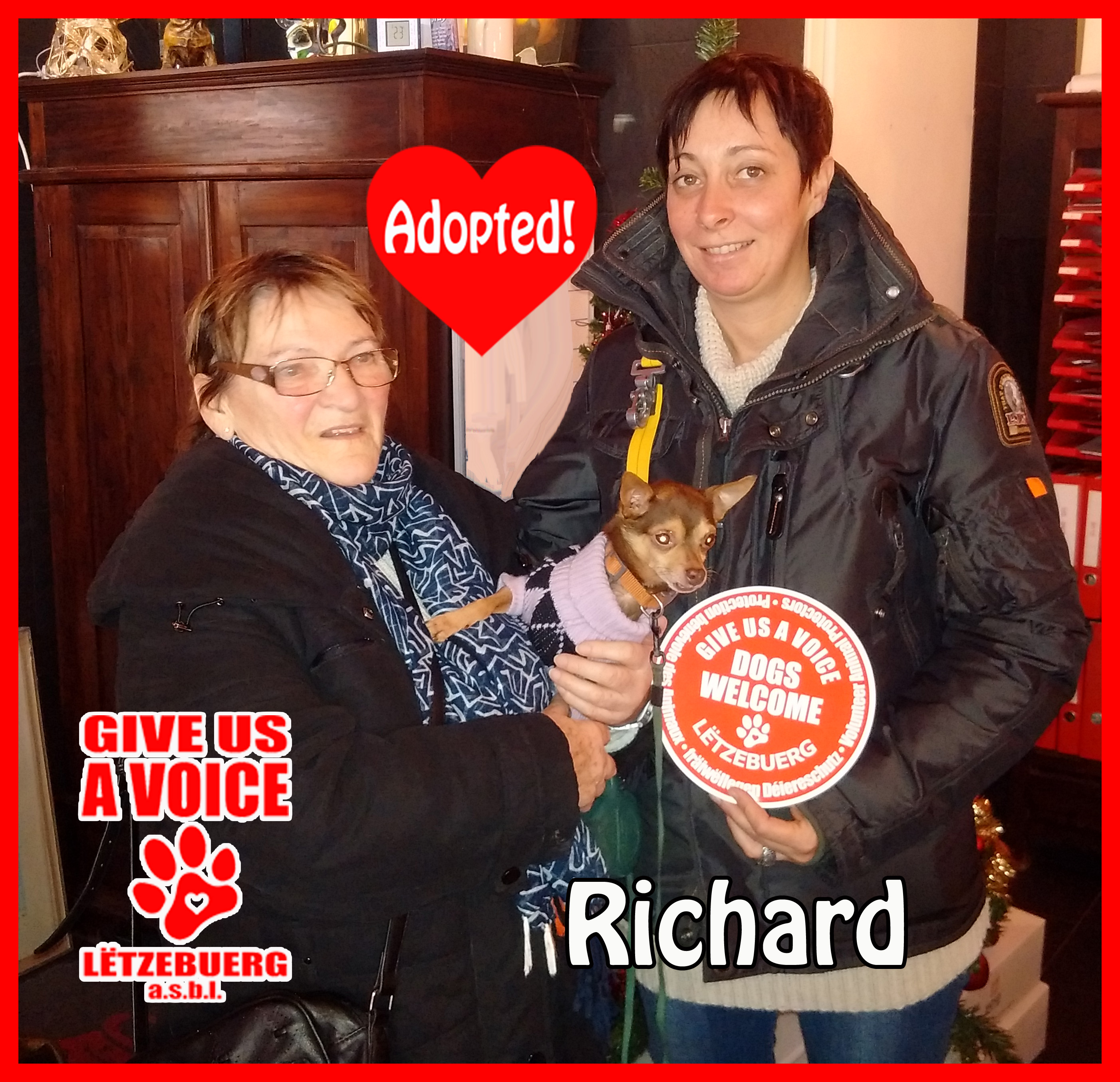 Richard adopted copy