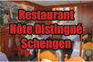 Restaurant Hote Distingue Schengen