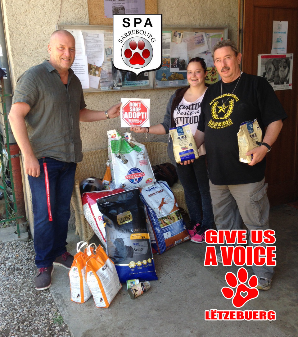 SPA Sarrebourg Food donation copy