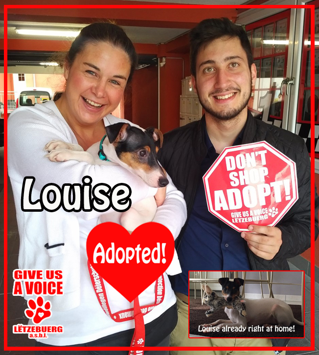 Louise adopted! copy